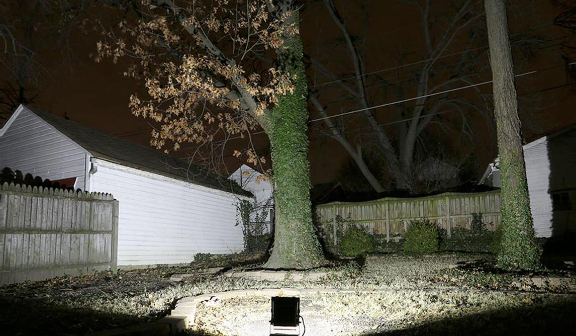 LED Outdoor Flood Light Project