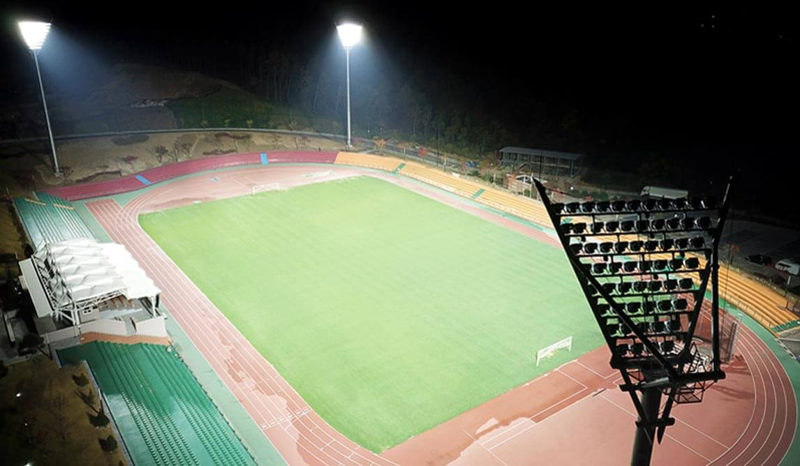 LED Sport Flood Light Project