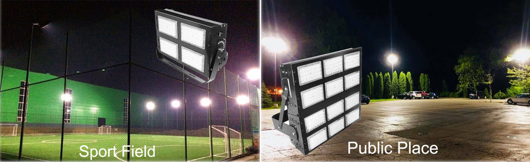 New products LED flood lights for tunnel street sport field support you to open local market