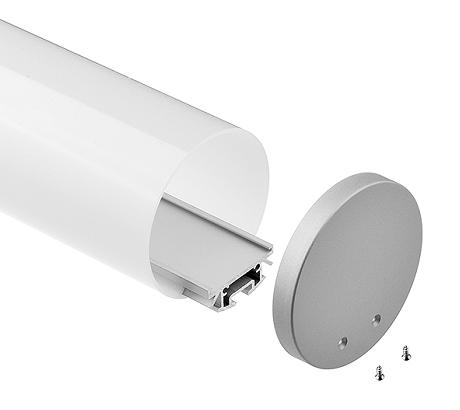 CLS-LP60r-xx watt | 20w 40w 60w 80w Round Led Linear Light