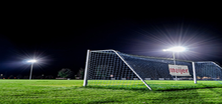 Soccer Field Led Flood Lighting Project 600 Watt to 1200 Watt