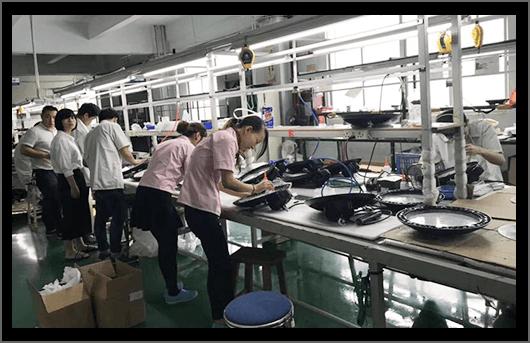 Production Line for LED Lights